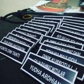 Nametag Nama Dada Pengenal Untuk Karyawan, PNS pegawai sipil