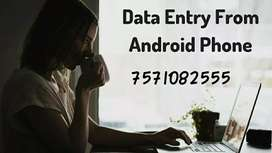 Wanted data typing work earn unlimited income
