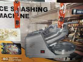 Ice crusher machine fully unsued in new excellent condition