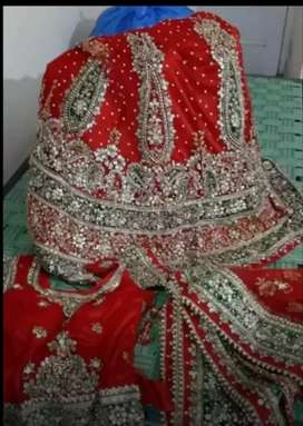 Lehnga  bridal . sherwani and lacha