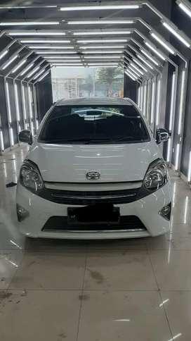 Toyota Agya G matic 2016 Putih terawat + bonus