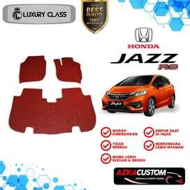 Karpet Mobil Honda Jazz 2 Baris Non Bagasi -Azka Custom