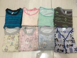Baju tidur anak usia 2-3thn (8pasang)