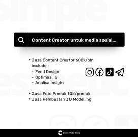 Jasa Desain Feed Content Creator