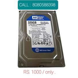 New WD Hard Disk 320 GB