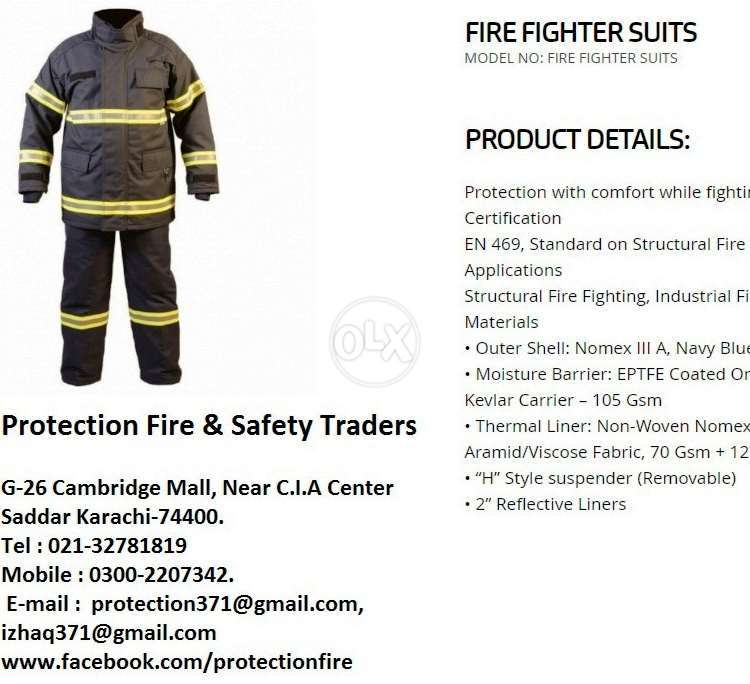 Fire Fighter Suit Nomex 111A 0