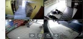 CCTV WIRELESS FULL COLOR TERMURAH PEMASANGAN GRATIS