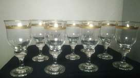 "gelas kristal 9 pc "" luminarc """