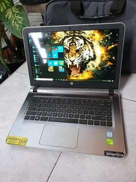 Laptop hp pavilion corei7 gen6 grafik dan gamers