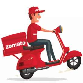 z0mat0 hiring food delivery partner