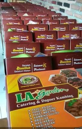 80 Box Nasi Kotak Free Antar Bandar Lampung