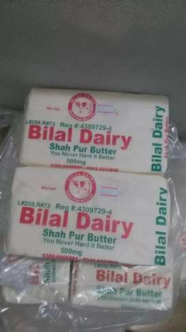 Fresh Butter & Pure Desi Ghee from Bilal Dairy