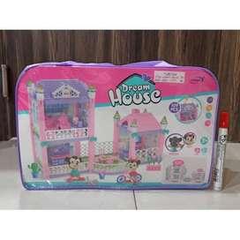 mainan lego dream house tas 109pcs