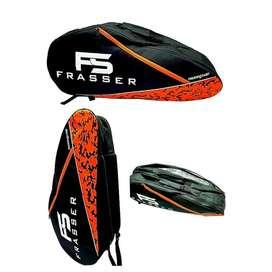 tas raket badminton frasser 2007 thermoguard orange