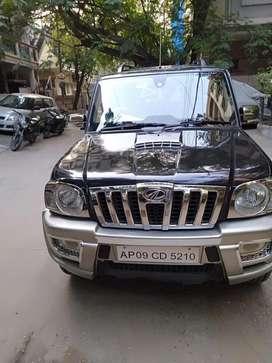 Mahindra Scorpio VLX 4WD ABS BS-III, 2011, Diesel