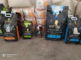 Cat food and accessories