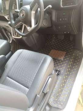 karpet lantai mobil for Nissan Serena C26-C27 full bagasi