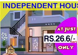New 2BHK Independent House For Sale 19.90laks