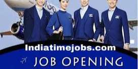 Indigo/Spice Jet Needs Ground Staff In  Airport For HS & Above