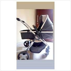 STROLLER BABY ELLE MADISON -GREY-