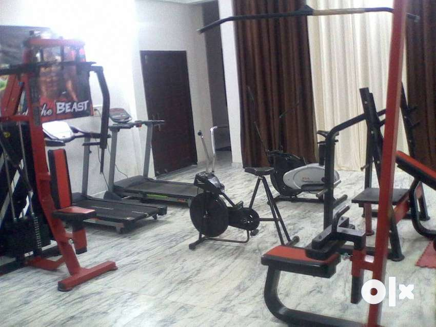 first time india half price me gym setup with cardio 0