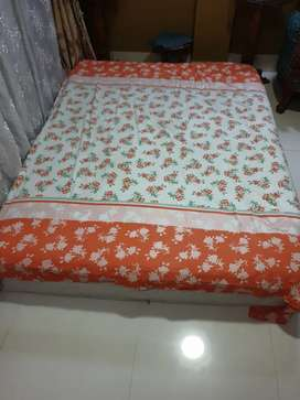 10 inch Karlon Spring and Foam mixed Mattress- New Condition