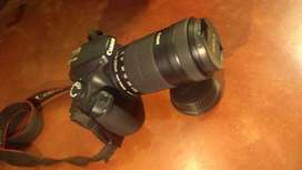 Canon 3000D with 3 lenses and Bag