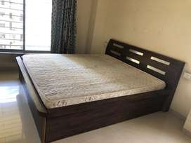 Bed 6x6.5 with Mattress in Wakad