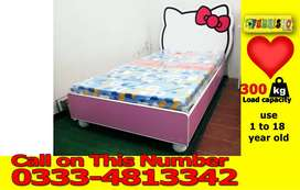 New Style Hello Kitty Single Bed Available in Fine Quality