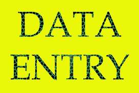 Data typist required as part time from home