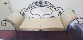 Wrought Iron 2-Seater Sofa - Excellent Condition