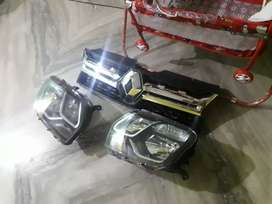 Front grill . headlamp .duster 7520ph 111119