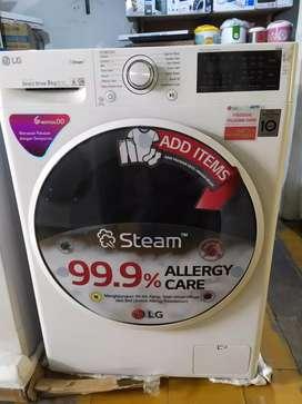 lg mesin cuci inverter front loading fc1408s4w