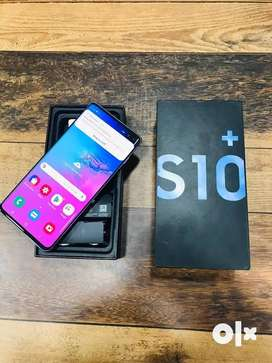 Samsung S10plus 512gb black on brand new condition with warranty