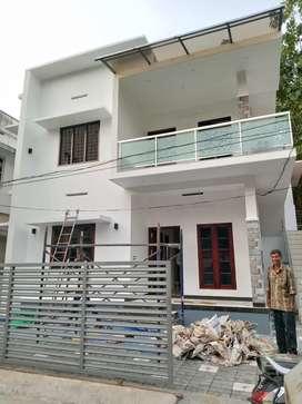 2 bhk 1st floor or ground floor newly house at aluva thottakattukara
