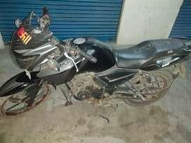 Black rtr 160 cc