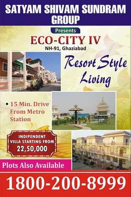 Resort Styled Villa @ 22.5 Lac  