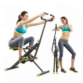 hit power squat power rider EC-674 sepeda statis