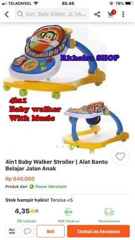 Baby walker new