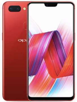 Oppo f7 red color, 1 year old phone