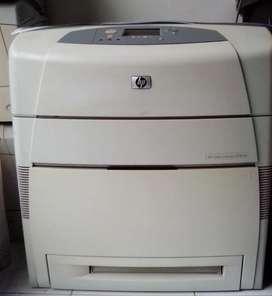 Printer HP Laserjet 5550dn (duplex - network) A3 color