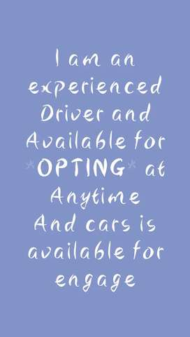 Opting Driver available. Cars for engage available