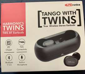 Portronics POR-078 Harmonics Twins (TWS) Bluetooth Earbuds (Black)
