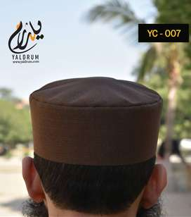 Islamic Cap Professional quality 12 Color Available