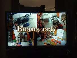 HANYA BULAN INI PROMO 4 KAMERA CCTV INDOOR/OUTDOOR SUPPORT ALL MERK
