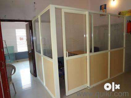 Aluminium Sliding Windows, Glass Partition, all other furnitures works 0