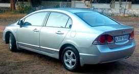 Honda Civic 1.8V Automatic, 2007, Petrol