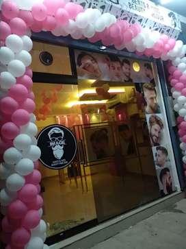 Men's Beauty parlour for sale or lease