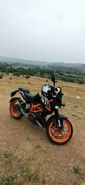 KTM DUKE 390, Very less driven, 1 st owner, in excellent condition