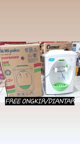 BayarDitempat dispenser panas dingin miyako hot cool wd 289 hc